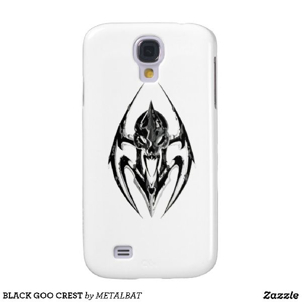 Black Goo Crest Samsung Galaxy S4 Case