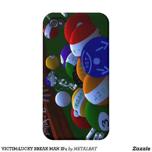 Break Man iPhone 4 Case