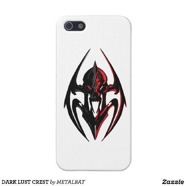 Dark Lust Crest iPhone Case