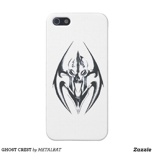 Ghost Crest iPhone Case