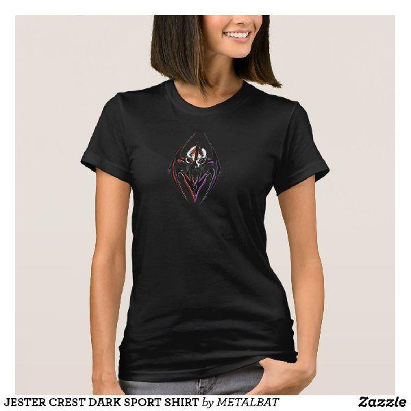 Ladies Jester Crest Dark Sport T-Shirts