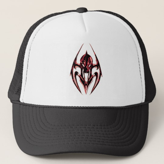 Red Crest Trucker Cap