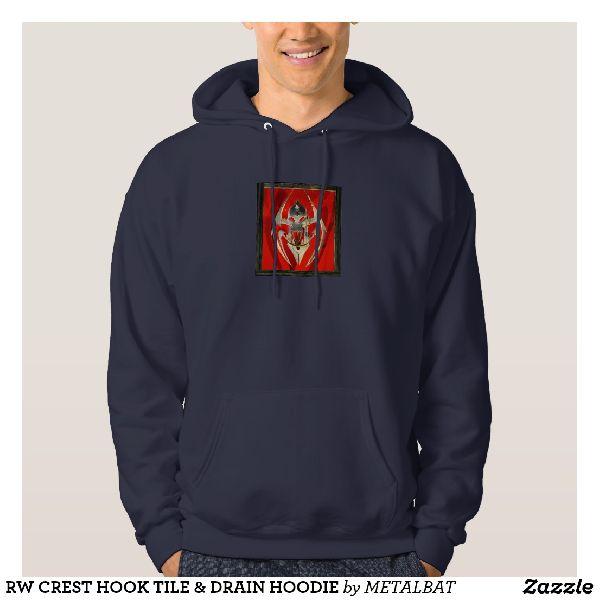 Mens Crest Hook Tile & Drain Hoodies