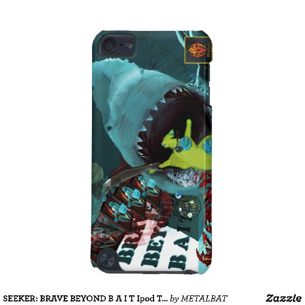B A I T Brave Beyond Ipod Touch Case