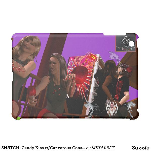 Candy Kiss Cancerous Consequences iPad Mini Cover