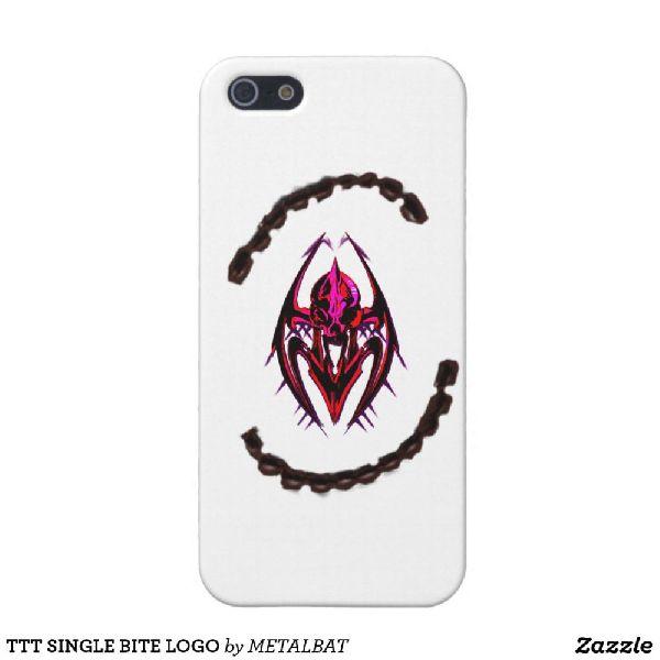 TTT Single Bite Logo iPhone Case