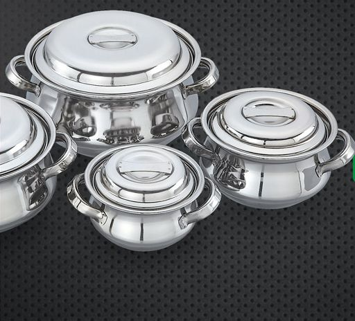 Stainless Steel Cookware Exporter Supplier in Ahmedabad India