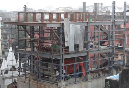 Steel Lift Structure 01