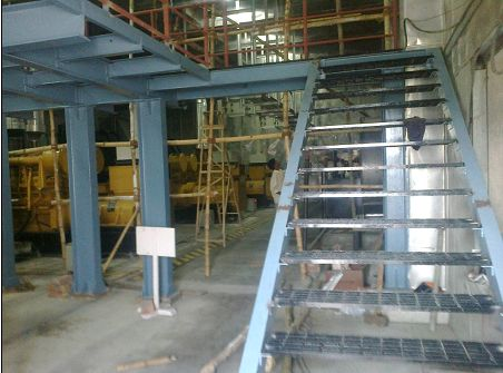 Steel Lift Structure 02