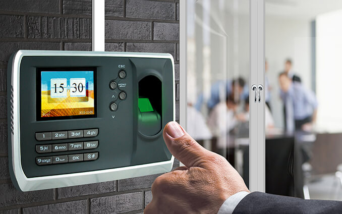 Biometric Time Attendance Machine 01