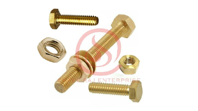 Brass Nut & Bolts 01