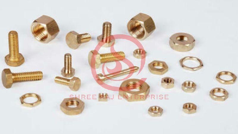 Brass Nut & Bolts 02