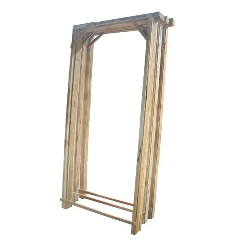 Wooden Door Frame 02