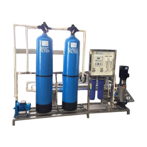 2000 LPH Stainless Steel Industrial RO Plant