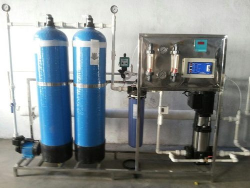 3000 LPH FRP Industrial RO Plant