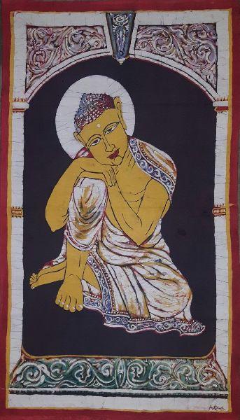 Thinking Buddha Paintings