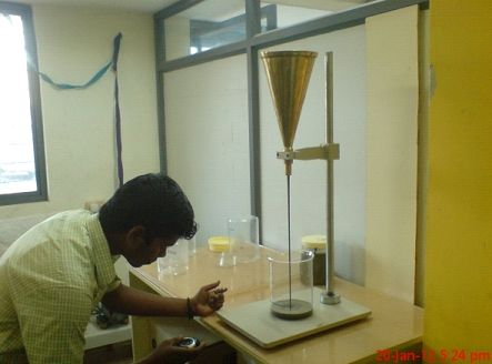 Admixture Chemical Testing Services
