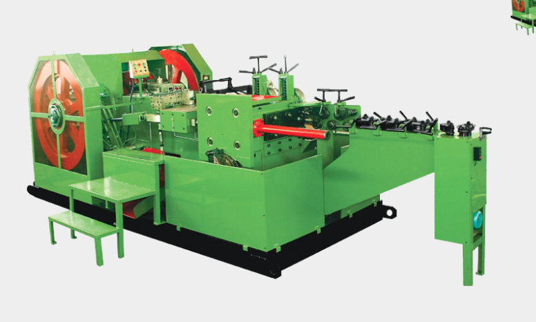 1-Die 2-Blow Screw Head Making Machine