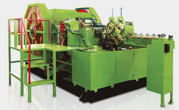 Four Blow Screw Heading Machine