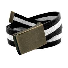 Plain School Belt Buckle 02