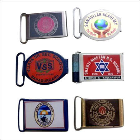 Powder Coated Iron School Belt Buckles
