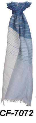 CF-7072 Cotton & Linen Scarf
