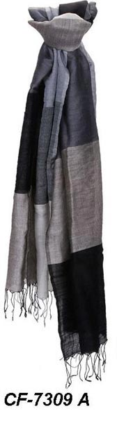 CF-7309 A Silk & Woolen Scarf