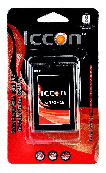 5L-1750 mAh Mobile Phone Battery