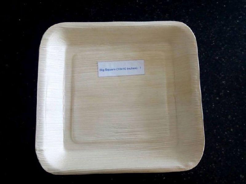 10x10 Inch Areca Leaf Big Square Plates & 10x10 Inch Areca Leaf Big Square Plates Manufacturer Supplier in ...