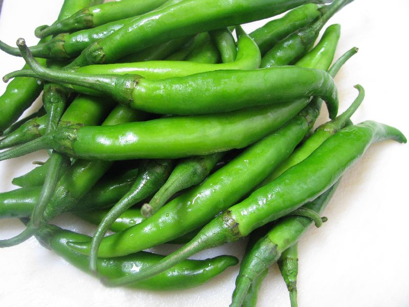 Fresh Green Chilli 01