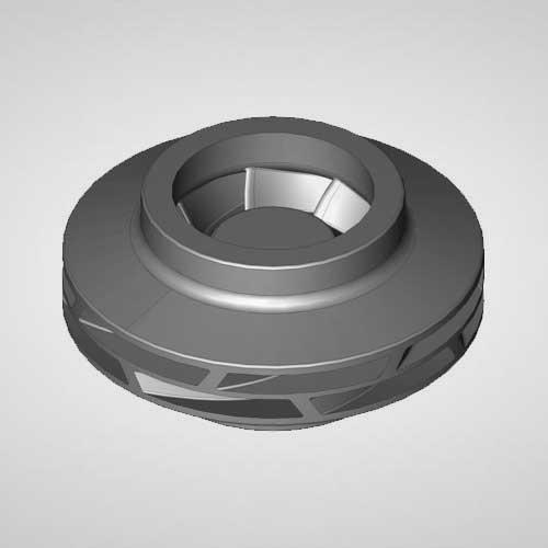 Double Suction Pump Impeller Casting