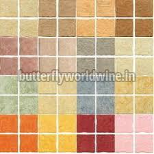 Colored Ceramic Wall Tiles