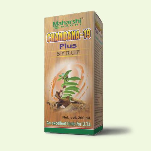 Chandana-19 Plus Syrup