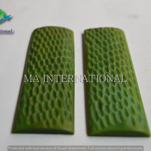 MAJBS13 Dyed Stabilized Jigged Bone Scales