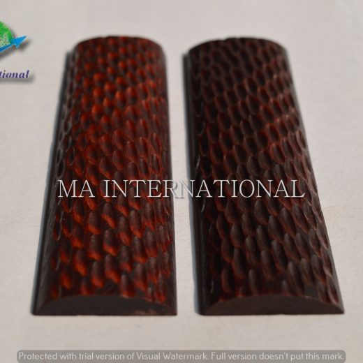 MAJBS14 Dyed Stabilized Jigged Bone Scales