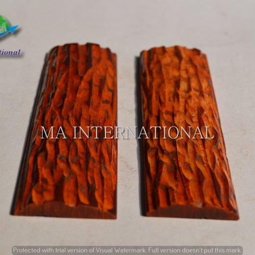 MAJBS20 Dyed Stabilized Jigged Bone Scales