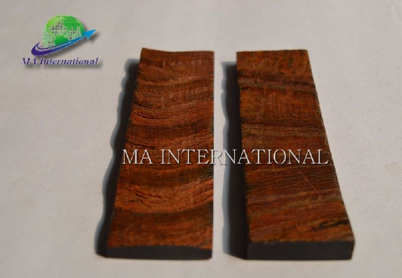 MANHS02 Buffalo Horn Bark Knife Handles