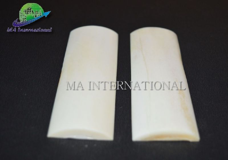 MASBS10 White Smooth Bone Scales
