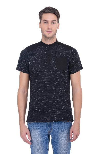 Mens Chinese Collar T-Shirts