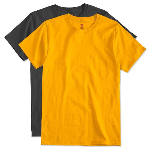 Mens Round Neck T- Shirts