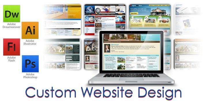Customize Website Designing Services