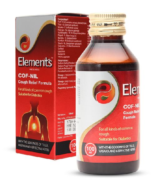 Elements Cof Nil Syrup