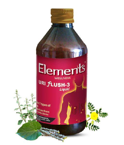Elements Uri Flush-3 Syrup
