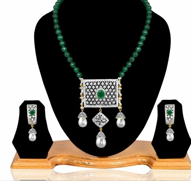 American Diamond Necklace Set 04