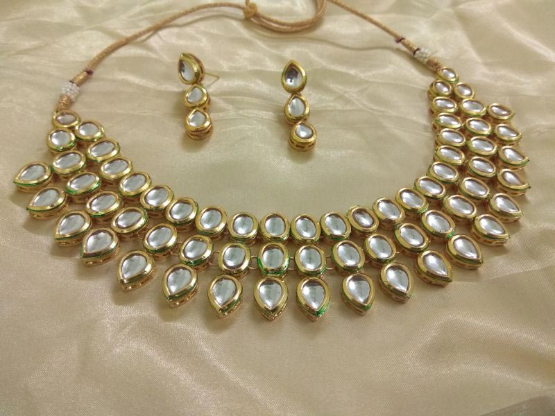 Kundan Necklace Set 06