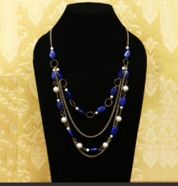 Artificial Bead Necklace 02