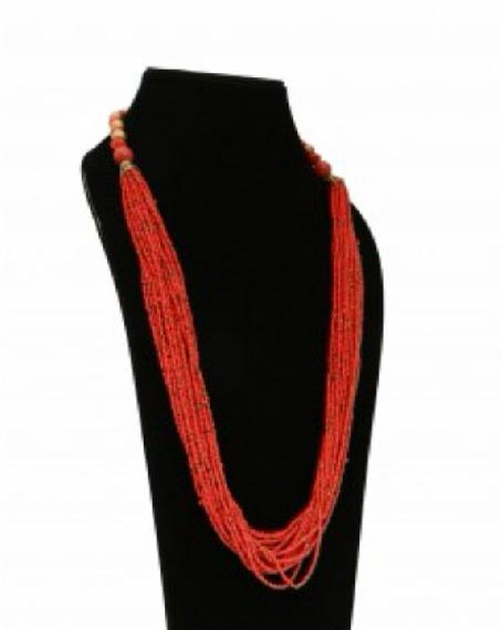 Artificial Bead Necklace 01
