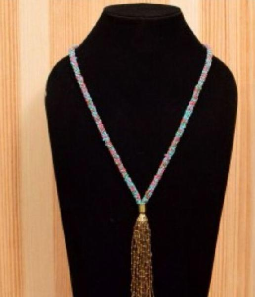Artificial Bead Necklace 03