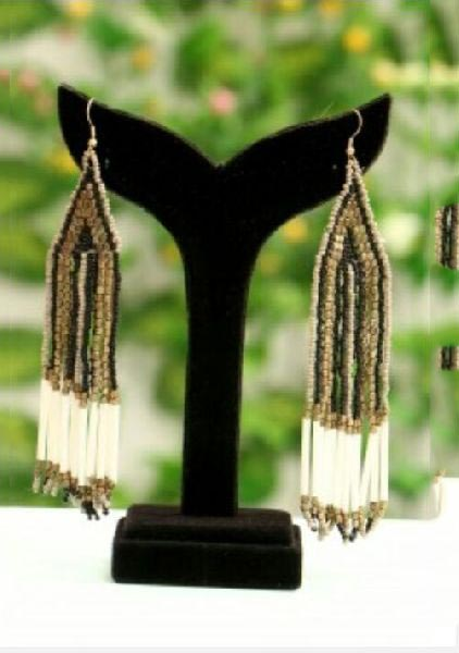 Beads Earrings 02