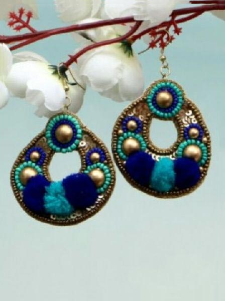 Beads Earrings 03
